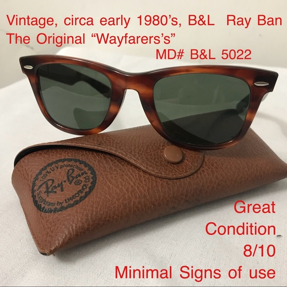 a626ee1f1f B L Ray Ban Other - Vintage